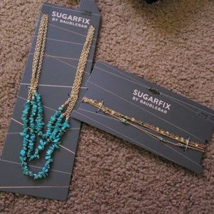 Sugarfix by Baublebar 2 necklace new